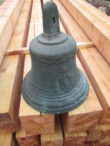 Zvon - nápis Anna